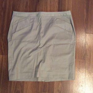Gap Pencil skirt Tan